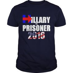 Hillary For Prisoner 2016 T-Shirts, Hoodies. VIEW DETAIL ==►…