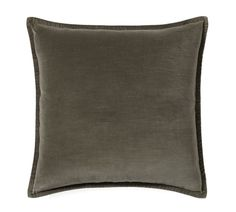 Washed Velvet Pillow Cover, 20
