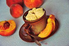 CÁCORkA: Domácí broskvová zrzlina Foto Blog, Muffin, Pudding, Breakfast, Desserts, Food, Morning Coffee, Tailgate Desserts, Deserts