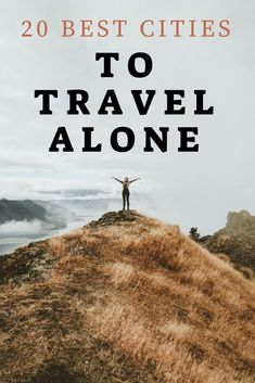 Found this list of best cities to travel alone too. Gave me so many ideas of where I can travel solo and have a great time and be safe. These solo travel ideas are so good I didnt know some of these cities were so good to travel alone to, I cant do all of these places to travel alone but maybe with time!