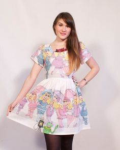 Hey, I found this really awesome Etsy listing at https://www.etsy.com/listing/152480959/miss-piggy-party-dress-made-to-order