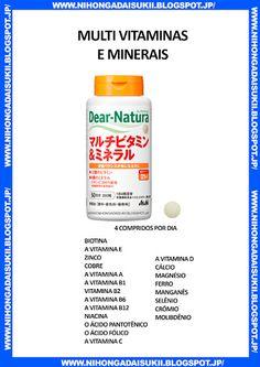 Multi vitaminas e minerais