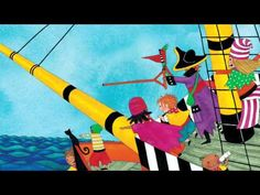 Traverse the high seas with singer Mark Collins and a lively band of buccaneers as they enjoy a melodic adventure aboard their galleon. From the book and CD, Portside Pirates! Pirate Preschool, Pirate Activities, Pirate Crafts, Preschool Lesson Plans, Preschool Activities, Kindergarten Learning, Pirate Day, Pirate Theme, Pirate Songs