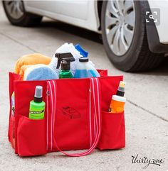 Zip Top Organizing Utility Tote for your auto!