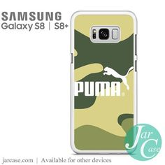 Puma Camo Phone Case for Samsung Galaxy S8 & S8 Plus