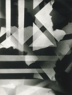 CAMERA OBSCURA: The Art and History of Photography: Alvin Langdon Coburn: Vortograph of Ezra Pound (1917)