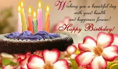 Wishing You A Beautiful Day With Good Health And Happiness Forever! happy birthday happy birthday wishes happy birthday quotes happy birthday images happy birthday pictures Best Birthday Wishes Quotes, Happy Birthday Wishes Images, Birthday Wishes For Friend, Birthday Wishes Messages, Happy Birthday Pictures, Birthday Quotes, Birthday Cards, Birthday Text, Latest Happy Birthday Images