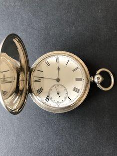 G/f Case Model 8 1892 Rockford Full Hunter Pocket Watch Size 18 11j Grade 68