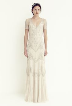 Jenny Packham Leila. Available at Sam Cox Bridalwear, Plymouth. 01752 228451.