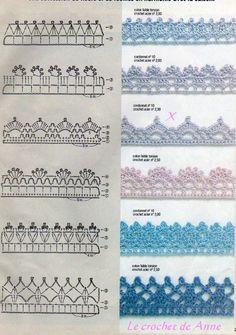 Crochet Lace Edging Trim