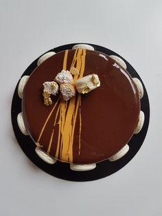L'Odéon: Entremet chocolat-vanille - Olivia Pâtisse
