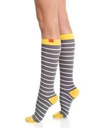 VIM & VIGR is a line of compression socks that combine progressive technology and fashionable designs. Each pair utilizes advanced Gradient Pressure knitting technology to help support weak veins and reduce leg swelling, fatigue and pain. VIM & VIGR's dynamic and fashionable socks prevent and reduce spider and varicose veins, inhibit swelling, prevent blood clots, and alleviate leg soreness and heaviness. These knee-high socks are available in a choice of wool, cotton and nylon.