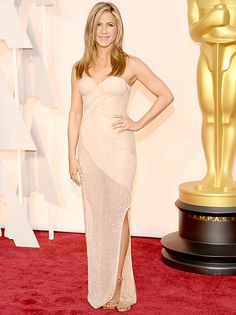 Jennifer Aniston attends the 87th Annual Academy Awards.