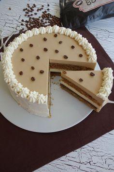 Kaffee-Vanille-Torte