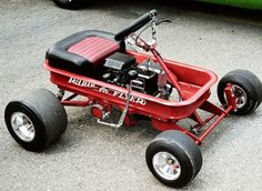 Little red wagon!