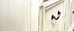 Mobilier de chambre peint chic!---Techniques de peinture + Nom de vernis