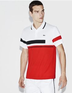 Discover the Lacoste Men's Poloshirts collection. Lacoste Men's polos exist in different materials and colours, find the polo that is made for you. Polo Shirt Outfits, Polo T Shirts, Sports Shirts, Camisa Polo, Lacoste Sport, Lacoste Men, Le Polo, Tennis Fashion, Tee Shirt Homme
