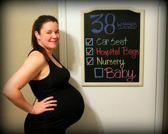 And Baby Makes Three!: 38 Weeks!!!