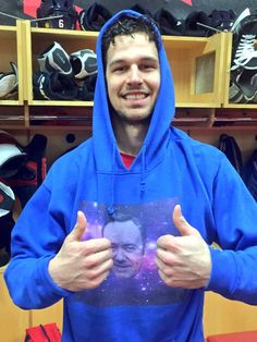 Petro's first NHL goal! #SpaceyInSpace