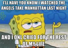 Not quite sure what Spongebob has to do with this... but he speaks truth.