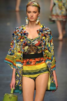 Dolce and Gabbana. INSANE in detail and embellishment