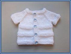 marianna's lazy daisy days: ROMA ~ Premature Baby Cardigan Jacket - Free Pattern : marianna's lazy daisy days: ROMA ~ Premature Baby Cardigan Jacket – Free Pattern Baby Cardigan Knitting Pattern Free, Baby Sweater Patterns, Baby Boy Knitting, Knit Baby Sweaters, Knitted Baby Clothes, Baby Knitting Patterns, Knitting Designs, Baby Knits, Kids Knitting