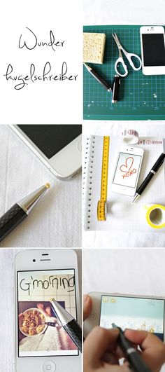 DIY iPhone Stylus (all you need is a ballpoint pen and a sponge!)