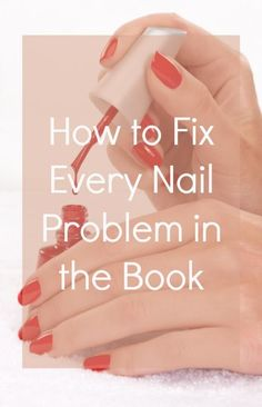 How to fix every nail problem in the book - (beautyhigh) Baker Kaitoula Tou Rodolfou Maslarova tips for teens tips in tamil tips tricks for face for hair for makeup for skin Diy Nails, Cute Nails, Pretty Nails, Polygel Nails, Oval Nails, Jamberry Nails, Nail Problems, Beauty Hacks For Teens, Beauty Ideas