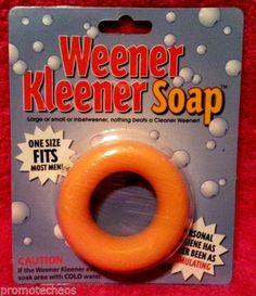 Weener Kleener Soap One Size Most Men Funny Gag Gift Joke Penis Hygiene Ring Fun   eBay ***FREE U.S. SHIPPING***