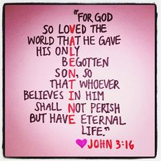 Happy Valentines Day! Bible JohnFavorite QuotesHeartBible ...