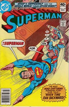Superman 1939 1st Series 345 March 1980 Issue DC by ViewObscura, $1.00
