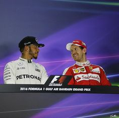 "Vettel:""We'll see who sitting in the middle seat tomorrow!"""