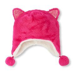 Girls Glitter Cat Hat  3fa2fb84a19e