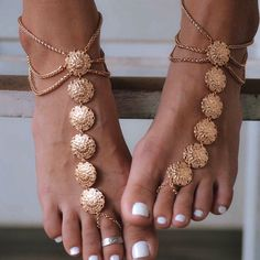 Shoespie Slouchy Beach Anklet