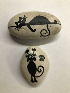 Painted using POSCA paint pens. Pebble Painting, Dot Painting, Pebble Art, Stone Painting, Painted Rock Animals, Painted Rocks Craft, Hand Painted Rocks, Stone Crafts, Rock Crafts