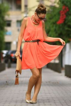 love the coral color!