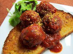 Garlic and Sea Salt: Italian Mushroom Walnut Meatballs