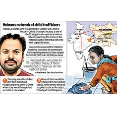 The man who trafficked 5,000 tribal kids; dna explores a dark underbelly of modern day slavery   Latest News & Updates at Daily News & Analysis