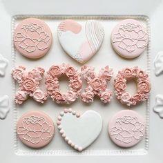 Valentine's Day Sugar Cookies, Baby Cookies, Valentine Cookies, Iced Cookies, Royal Icing Cookies, Birthday Cookies, Fun Cookies, Christmas Cookies, Cookie Favors