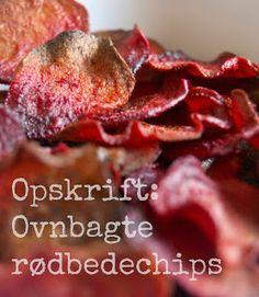 Mangler du en sund snack? Opskrift: Ovnbagte rødbedechips // mtotfls.dk