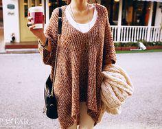 Slouchy sweaters. #lulusholiday