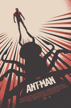 Cool Stuff: Poster Posse Ant-Man Artwork Tribute
