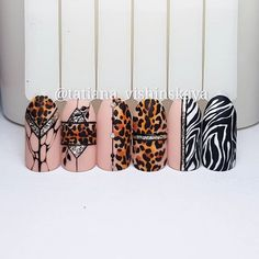 Winter Nails Designs - My Cool Nail Designs Beauty Nails, Glam Nails, Nail Art Modele, Sculpted Gel Nails, Hard Nails, Animal Nail Art, Broken Nails, Nail Art Techniques, Leopard Nails