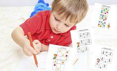 Sudokus sencillos para niños de 4 a 6 años - Aprender a leer y escribir - Educación - Guia del Niño
