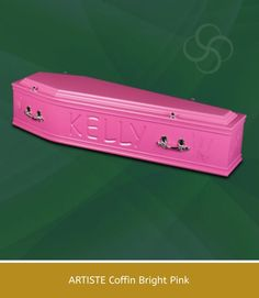 Coffins with that personalized touch,chose a color that celebrates a personality.