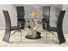 Designer Dining Table Glass Top
