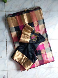 Indian Silk Sarees, Indian Sarees Online, Indian Beauty Saree, Saree Dress, Sari Blouse, Silk Saree Blouse Designs, Simple Sarees, Designer Blouse Patterns, Indian Textiles
