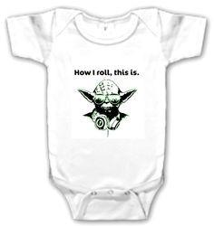 Star Wars Yoda Baby Onesie Born  $12.99