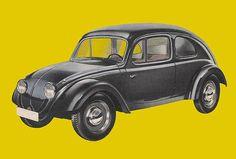 Volkswagen 1935 г. — прототип послевоенного «Жука»