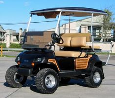 Art Carts - Paint & Body - Custom Limo Golf Carts - Channelview ...
